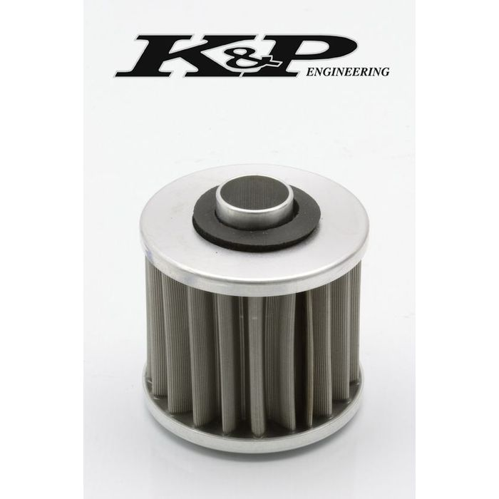k p stainless steel reusable oil filter yamaha raptor