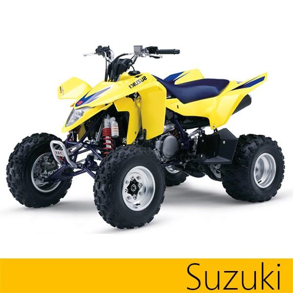 Maier 509820 Black Vented Hood for Suzuki LZ400