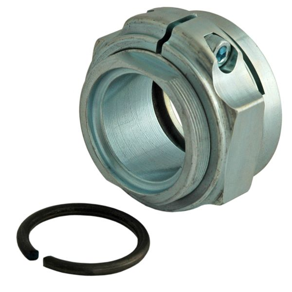 Durablue posi-lock axle retaining nut