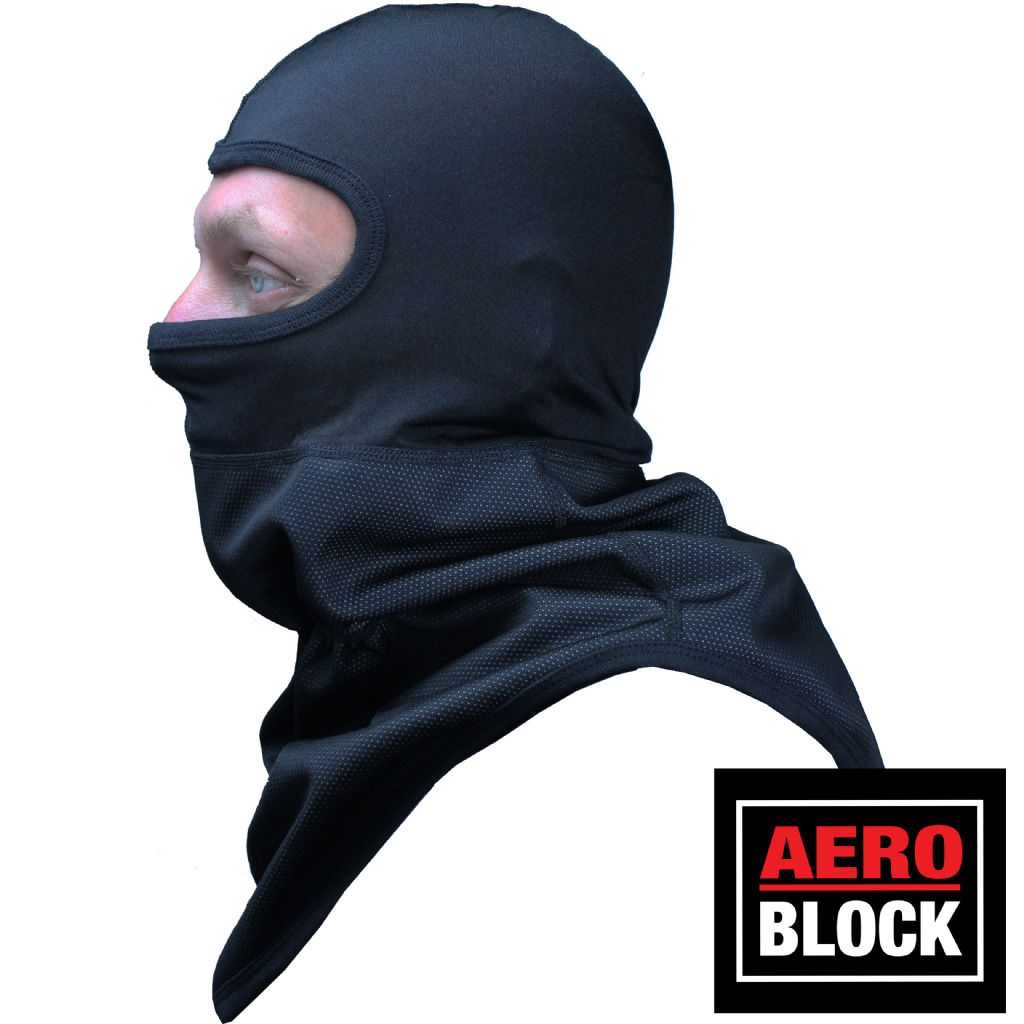 Vortex Clothing aeroblock balaclava neckwarmer with nylon head (v4508)