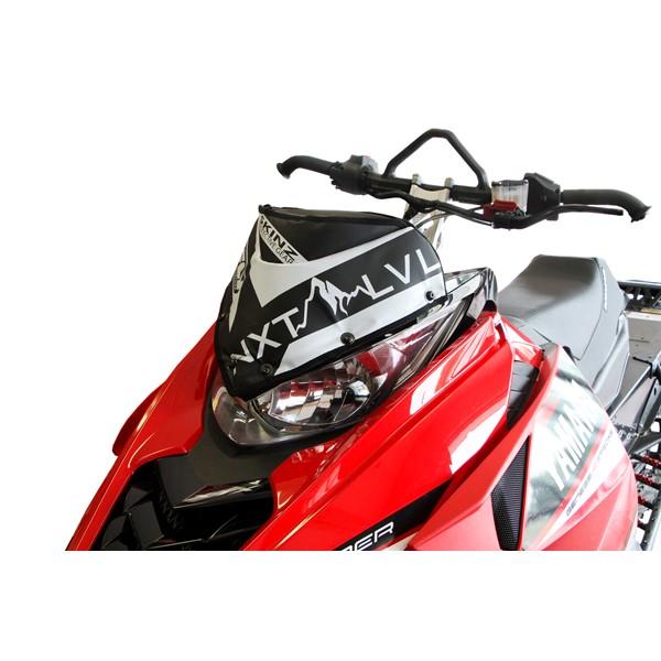 Skinz next level windshield pak yamaha sr viper 2014 for Yamaha sx viper windshield