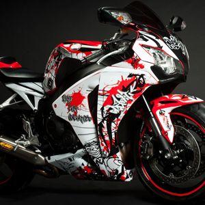 Flu Designs Motocross Graphic Kits Splash N Dirt