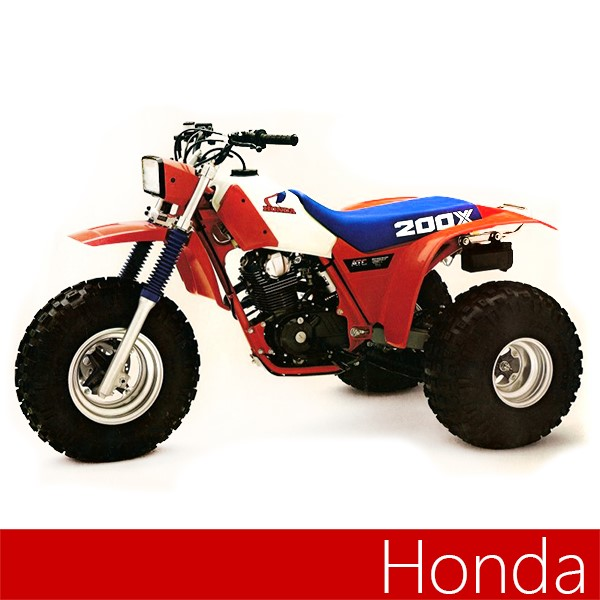 Honda Dual Sport Canada >> Maier Replacement Front And Rear Fender For Honda Atc 200X | Splash'n Dirt Distribution Canada