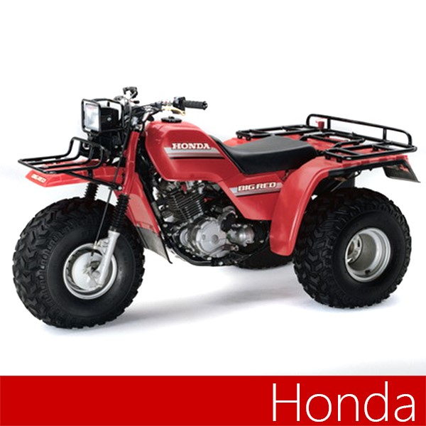 Maier Body Plastic honda atc250es big red