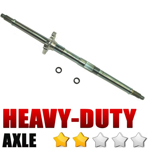 Durablue axle- standard heavy duty
