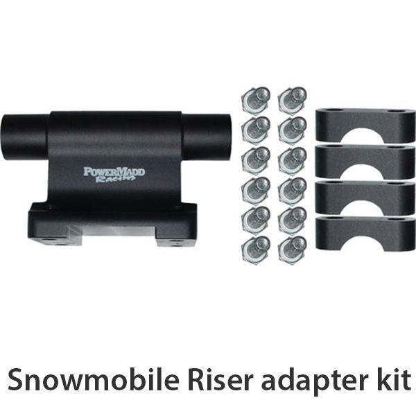 Yamaha Snowmobile Handguards Powermadd Snowmobile accessories | Splash'n Dirt Distribution Canada