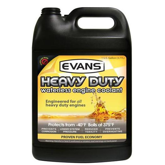 Evans heavy duty coolant