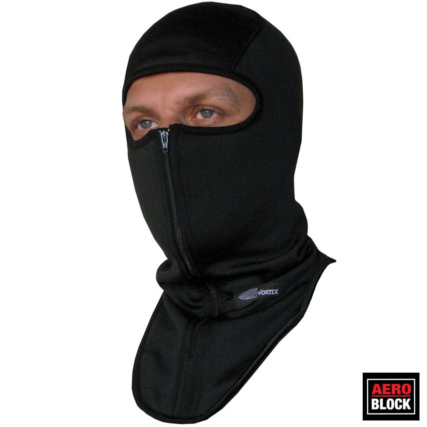Vortex Clothing aeroblock windproof balaclava with zipper (v4506)