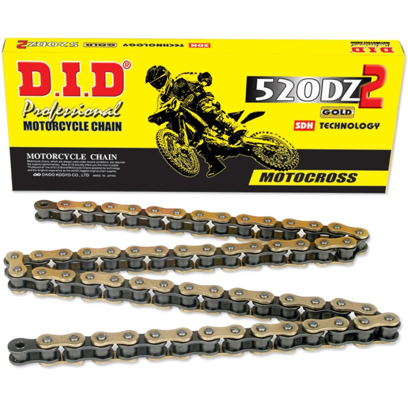 Magnum magnum did 520 dz2 off road motocross non o ring chain