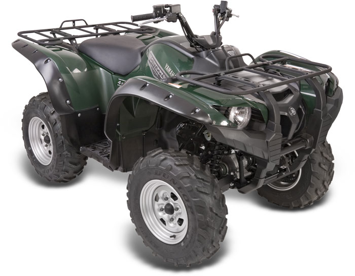 Yamaha Grizzly Fender Flare