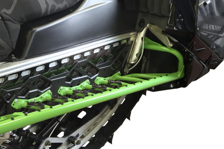 skinz green airloc running board